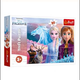 Puzzle Trefl - Frozen 2, 30 piese - Activitati pentru copii (3+)