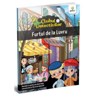 Furtul de la Luvru - Carte cu activitati pentru copii (4-7 ani)