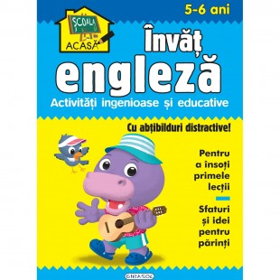 Scoala acasa - Invat engleza 5-6 ani