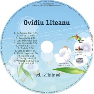Hai in Rai, vol.12, Ovidiu Liteanu