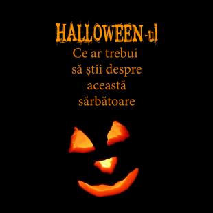Broșură – Halloween-ul - Ce ar trebui să știi despre această sărbătoare (set 10 buc.)