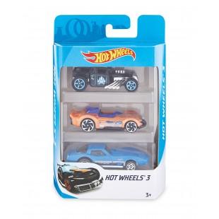Set 3 Masini, Hot Wheels 3 - Jucarii pentru copii