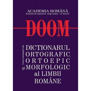 DOOM - Dictionarul Ortografic Ortoepic si Morfologic al Limbii Romane