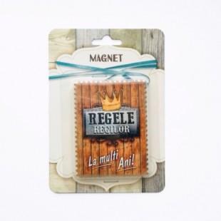 Magnet carton - Regele regilor!