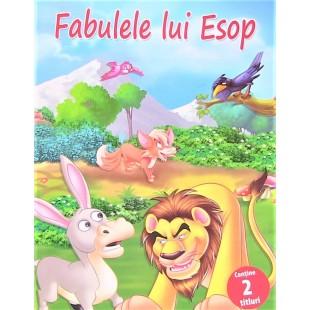 Fabulele lui Esop - Contine 2 titluri - Povestiri pentru copii (5-7ani)