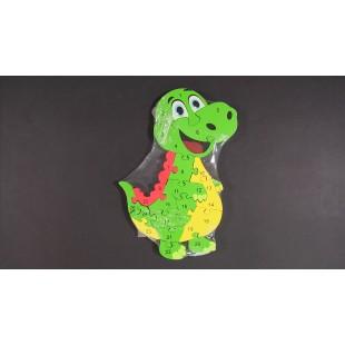 Jucarii din lemn - Crocodil