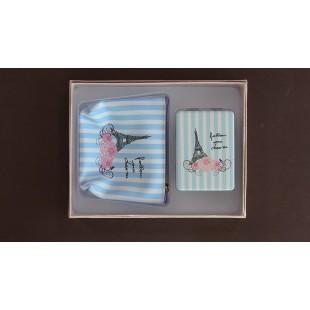 Portofel femei -Paris ( 19x14.5 cm )