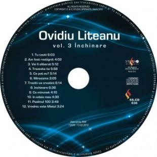 Inchinare, vol.3, Ovidiu Liteanu