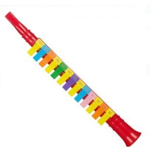 Instrument muzical - Clarinet, rosu (Jucarii pentru copii 3+)