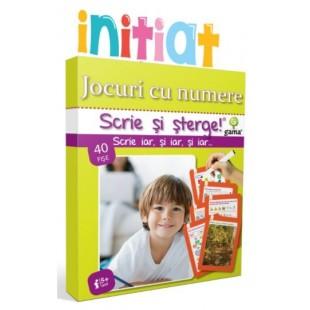 Jocuri cu numere - Activitati cu fise pentru copii (5-7 ani)