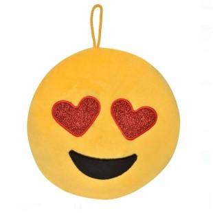Emoticon de plus, galben - Jucarie pentru copii