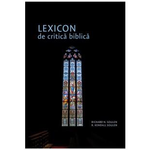 Lexicon de critică biblică - Carte studiu Biblic