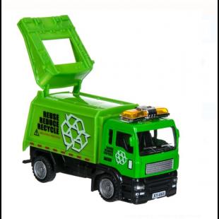 Masina de gunoi, verde - Jucarii pentru copii (3+)