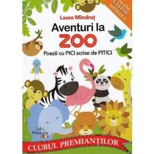 Aventuri la Zoo. Poezii cu pici scrise de pitici (5-6 ani, citesc nivelul 1)