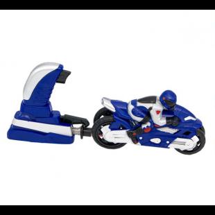 Motor cu lansator, albastru - Jucarii pentru copii (3+)