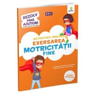 Activitati pentru exersarea motricitatii fine - Carte cu activitati pentru copii (4-5 ani)