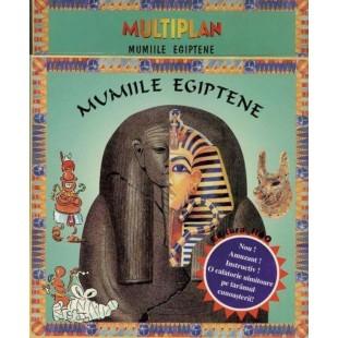 Mumiile egiptene - Multiplan - Carte pentru copii (6-9 ani)