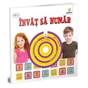 Invat sa numar - Carte educativa pentru copii (2-4 ani)