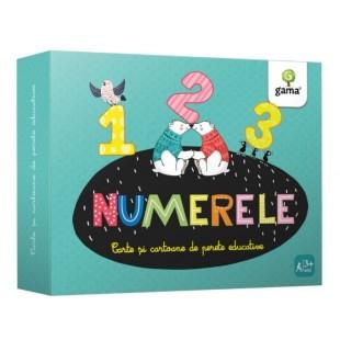 Numerele - Carte si cartoane de perete educative (3-5 ani)