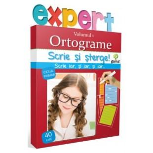 Ortograme, volumul 1 - Activitati cu fise pentru copii (8-10 ani)