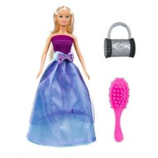 Papusa cu rochita violet - Betty, 30cm - Jucarii pentru copii (3+)