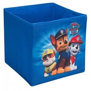 Cutie depozitare, albastru - Paw Patrol (25x25x25cm)