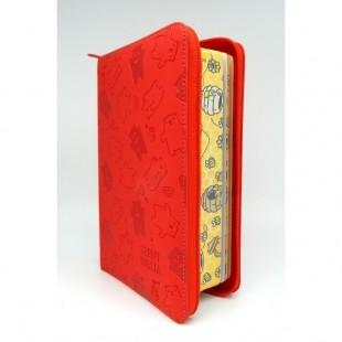 Szent Biblia - Közepes Biblia, Piros Macis, Cipzárral, Károli Gáspár, Forditása (Biblia medie in lb. maghiara, fermoar)