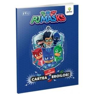 Cartea cu activitati a eroilor - Carte cu activitati pentru copii (4-6 ani)