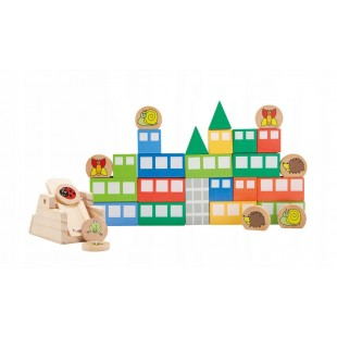 Cutie cu jocuri, catapulta (30 piese)