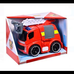 Masina de Pompieri cu lumina si sunet, Auto Fire Rescue - Jucarii pentru copii