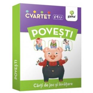 Povesti - Carti de joc si invatare (4-6 ani)
