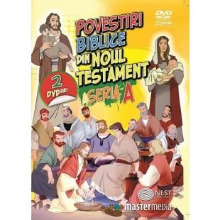 DVD - Povestiri Biblice din Noul Testament (seria A) - Desene animate dublate in limba romana