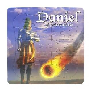 Puzzle biblic - Daniel si prietenii sai (14x14 cm)