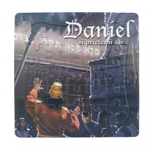 Puzzle biblic din Daniel (14x14 cm)