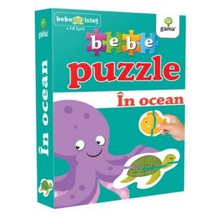 Puzzle - In ocean - Activitati pentru copii (1-3 ani)