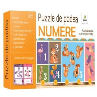 Puzzle de podea - Numere - Activitati pentru copii (3-5 ani)