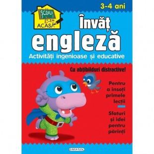 Scoala acasa - Invat engleza 3-4 ani