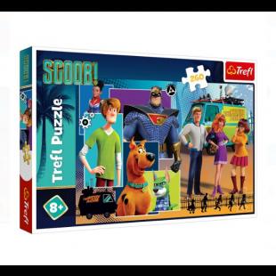 Puzzle Trefl - Scooby Doo, 260 piese - Activitati pentru copii (8+)