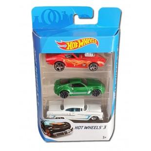 Set 3 Masini, Hot Wheels 3, Model 2 - Jucarii pentru copii