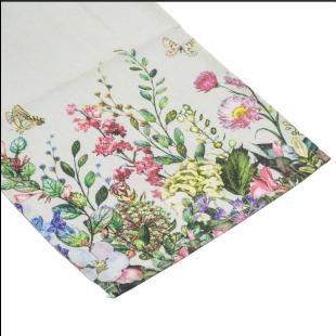 Față de masa - Flori