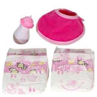 Set ingrijire bebe - Jucarii pentru copii (3+)
