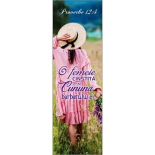 Semn de carte - O femeie cinstita este cununa barbatului ei (4)