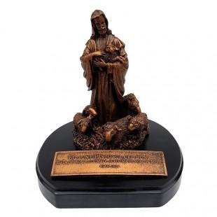 Statueta Isus Pastorul (18X19)
