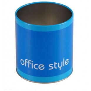Suport de creioane, albastru - Office Style (10x11 cm)