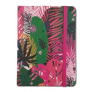 Caiet pentru femei - Tropical (10.5x14.5x1.5 cm)