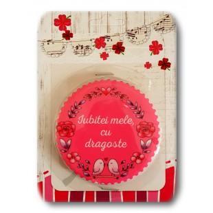 Magnet ceramic - Iubitei mele, cu dragoste