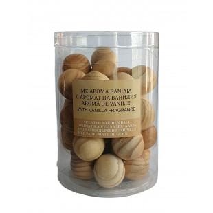 Bile de lemn parfumate - Vanilie 30 buc