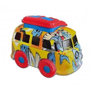 Jucarie autobuz colorat 3+