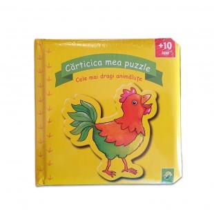 Carte copii - Carticica mea puzzle animalute (+10 luni)