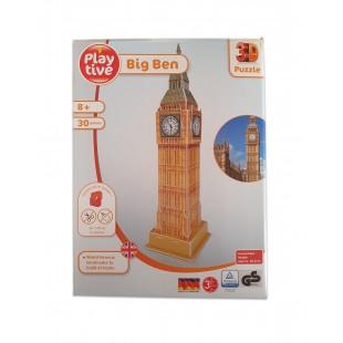 Puzzle 3D - Big Ben (60 piese)